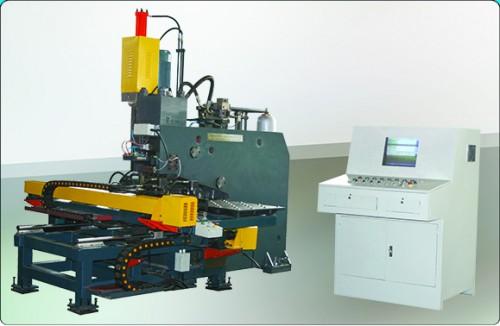 山东YBJZ-100数控液压连接板冲钻复合机