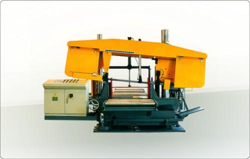 河南BS系列数控双立柱转角带锯机床