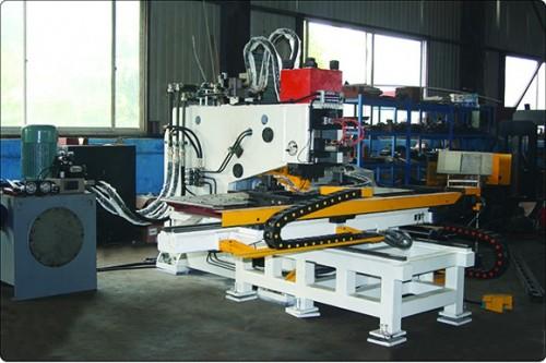 安徽数控液压槽钢冲孔机(快速型板材冲孔机)