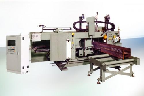 高速数控型钢三维钻带锯床联合生产线视频